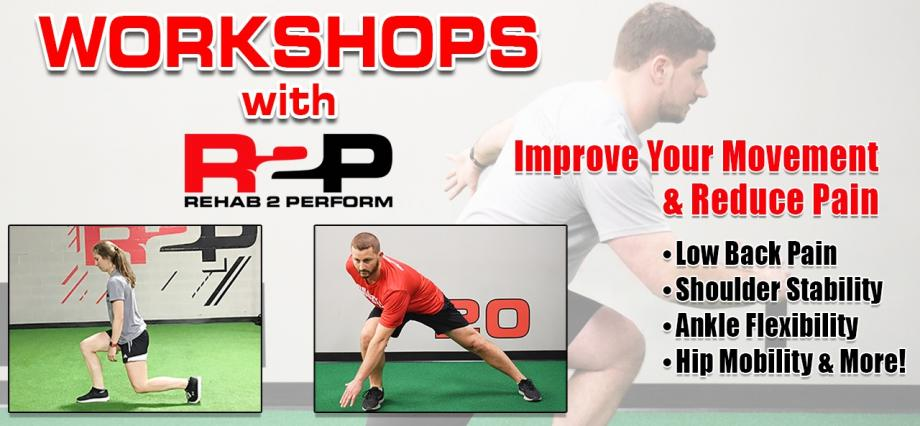 workshop, fitness, physical therapy