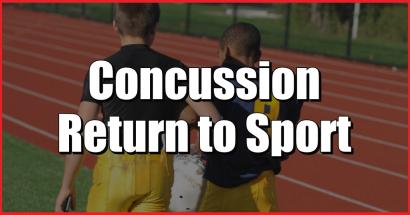 concussion physcal therapy return to sport brain