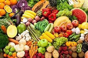 fruit, veggies, health
