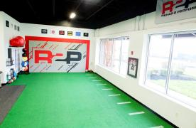 Turf, Windows, R2P Logo Wall