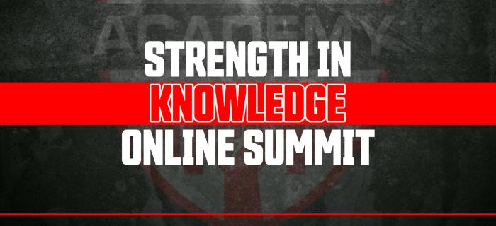 Strength Knowledge Online Summit